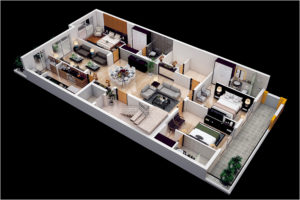Vipul world D 92 Floor Plan