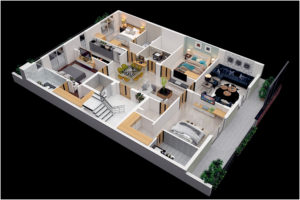 Orion Homes Project C2466: 300 Sq.Yds, 4bhk flat 4